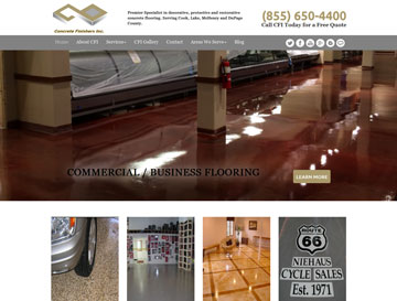 Concrete Finishers Inc