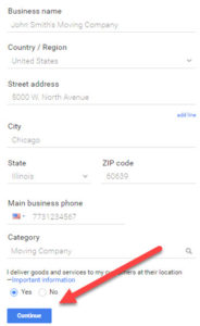 Claiming Your Listing on Google